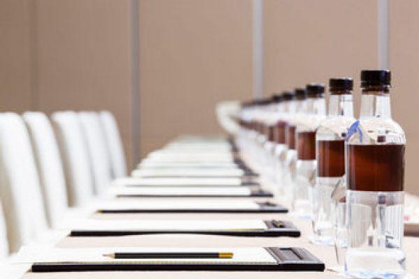 bigstock-Press-Conference-Room-Table-Se-119765039